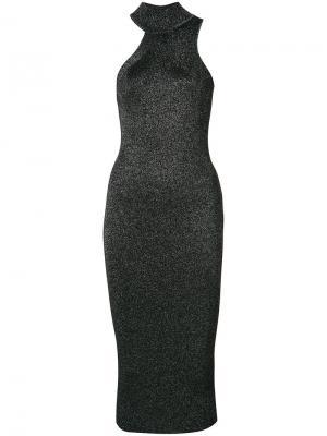 Облегающее платье Cushnie Et Ochs. Цвет: чёрный