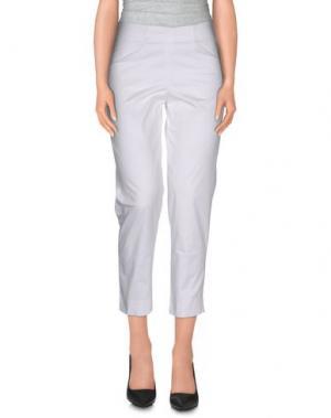 Повседневные брюки ROSSOPURO. Цвет: белый