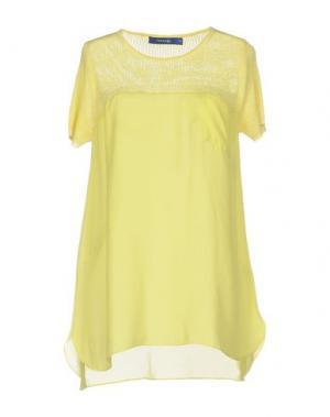 Блузка ANONYME DESIGNERS. Цвет: желтый