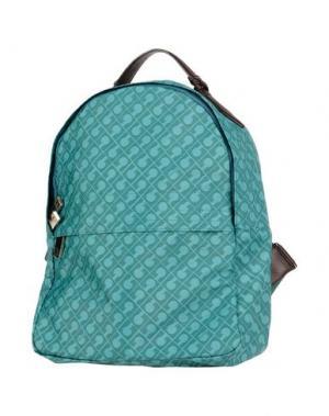 Рюкзаки и сумки на пояс GHERARDINI. Цвет: зеленый