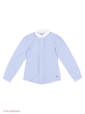 Рубашка MANAI. Цвет: голубой