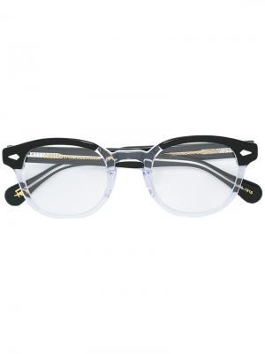 Очки Lemtosh Moscot. Цвет: чёрный