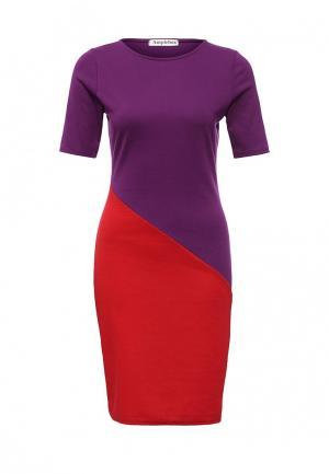 Платье Amplebox. Цвет: мультиколор