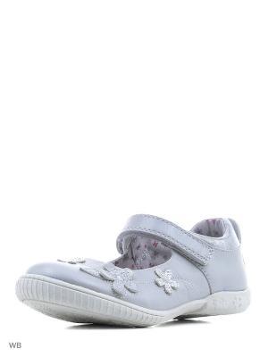 Туфли PlayToday. Цвет: серый меланж, серый