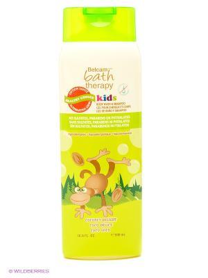 Детский гель для душа и шампунь волос Кокосовое удовольствие Bath Therapy. Цвет: зеленый