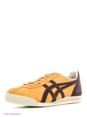 Спортивная обувь TIGER CORSAIR ONITSUKA. Цвет: горчичный, коричневый