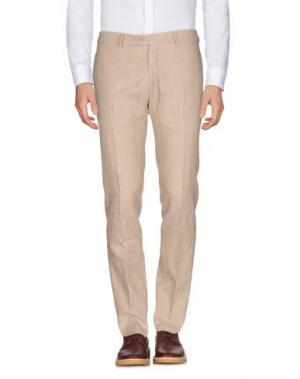 Повседневные брюки REVERES 1949. Цвет: песочный
