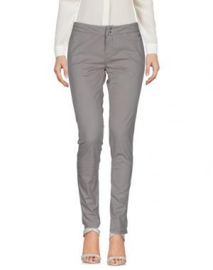 Повседневные брюки SUN 68. Цвет: голубиный серый
