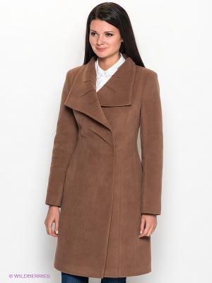 Пальто Klimini. Цвет: коричневый