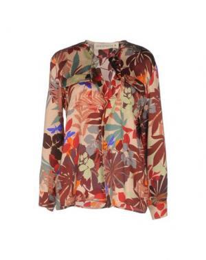 Блузка SHIRTAPORTER. Цвет: красный