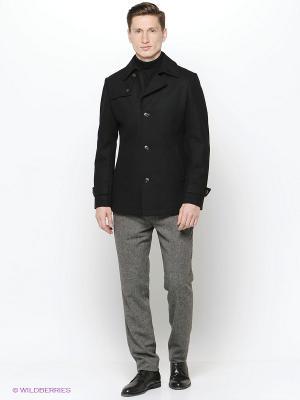 Пальто Remus Uomo. Цвет: черный