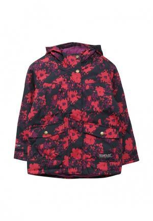 Куртка утепленная Regatta. Цвет: разноцветный