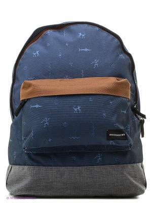 Рюкзак Quiksilver. Цвет: коричневый, синий