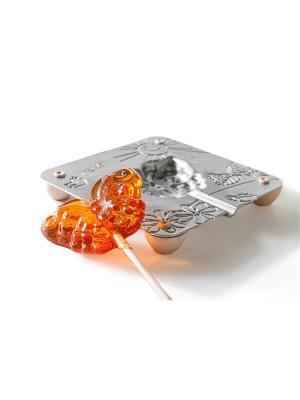Форма для леденцов Бабочка Леденцовая Фабрика. Цвет: светло-серый