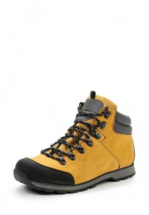 Ботинки трекинговые Terra Impossa. Цвет: желтый