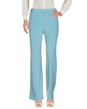 Повседневные брюки GAZEL. Цвет: небесно-голубой