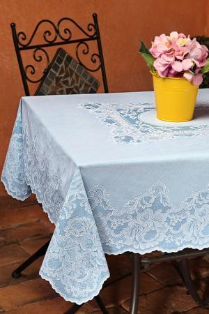 Скатерть прямоугольная 110х140 NIKLEN. Цвет: голубой