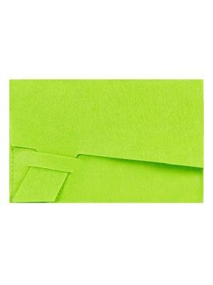 Клатч фетровый IQ Format. Цвет: зеленый