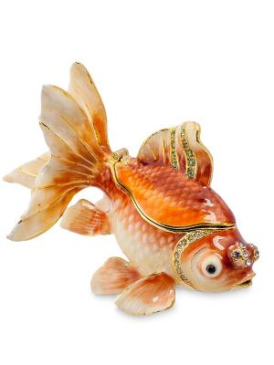 Шкатулка Золотая рыбка (Nobility) Nobility. Цвет: оранжевый
