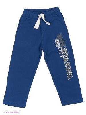 Спортивные брюки WonderKids. Цвет: синий