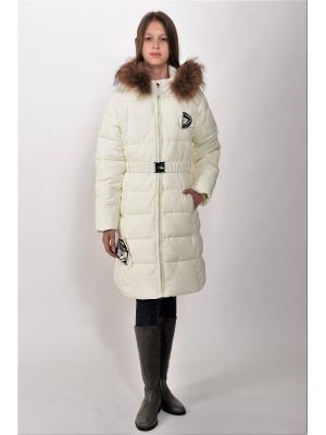 Пальто TOPKLAER. Цвет: молочный