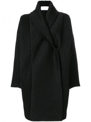 Пальто Xiong Reality Studio. Цвет: чёрный