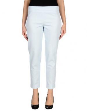 Повседневные брюки PUROTATTO. Цвет: небесно-голубой