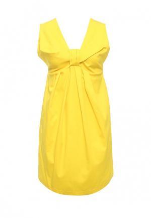 Платье Imperial. Цвет: желтый