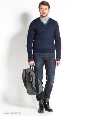 Пуловер Strellson. Цвет: темно-синий