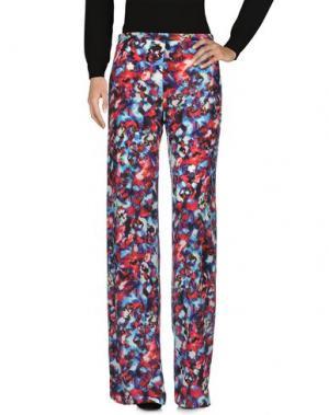 Повседневные брюки SALONI. Цвет: красный