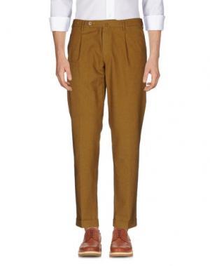 Повседневные брюки G.T.A. MANIFATTURA PANTALONI. Цвет: верблюжий
