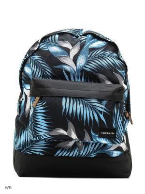 Рюкзак Quiksilver. Цвет: черный, голубой, серый