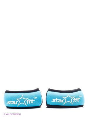 Утяжелители STAR FIT WT-101 для рук Браслет, 0,5 кг, синий/черный Starfit. Цвет: синий, черный