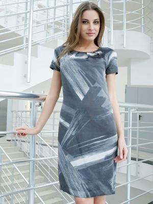 Платье Bandolera. Цвет: серый