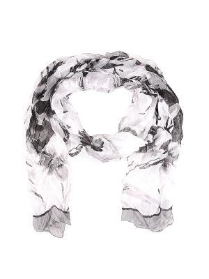 Платок Migura. Цвет: черный, серый, белый