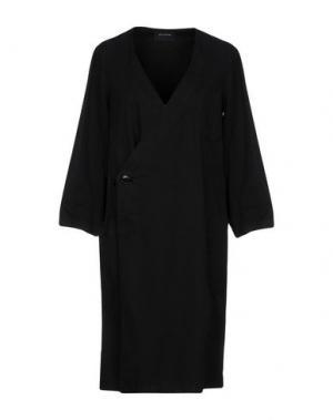 Легкое пальто ZUCCA. Цвет: черный
