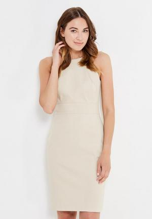 Платье Banana Republic. Цвет: бежевый