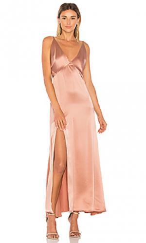 Вечернее платье pacino MERRITT CHARLES. Цвет: коричневый