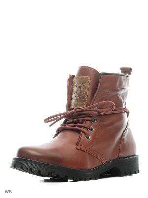 Ботинки Goergo. Цвет: красный