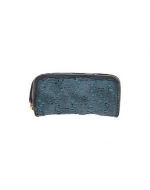 Бумажник CATERINA LUCCHI. Цвет: цвет морской волны