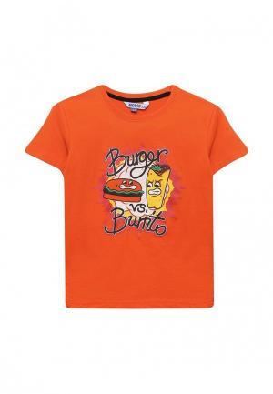 Футболка Modis. Цвет: оранжевый