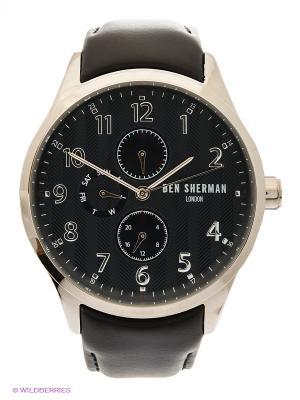 Часы Ben Sherman. Цвет: черный