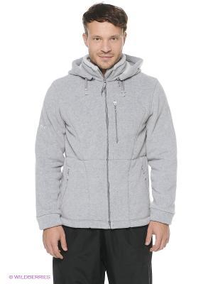 Куртка Shelter. Цвет: светло-серый