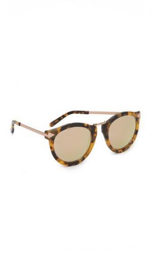 Солнцезащитные очки Harvest Superstar Karen Walker