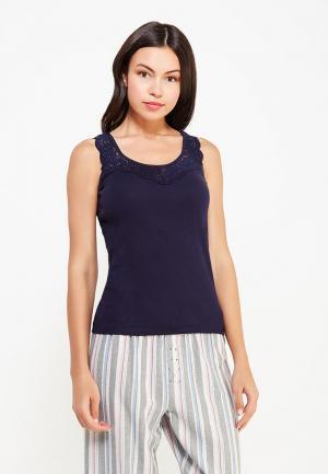 Рубашка домашняя Vis-a-Vis. Цвет: синий