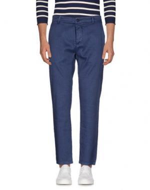 Джинсовые брюки NICOLAS & MARK. Цвет: темно-синий