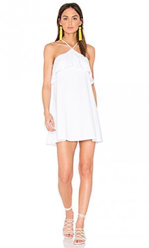 Платье adria Susana Monaco. Цвет: белый