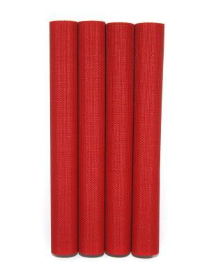 Плейсматы, 4 шт DiMi. Цвет: красный