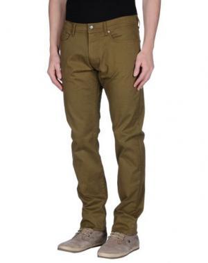 Повседневные брюки MCS MARLBORO CLASSICS. Цвет: зеленый-милитари