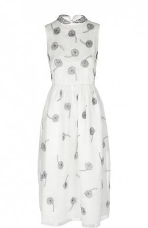 Платье Jupe by Jackie. Цвет: черно-белый